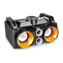 Fenton MDJ100 Party Station Επαναφορτιζόμενο 2x 4'' 100 Watt Max με AUX , SD , USB , Bluetooth 178.303