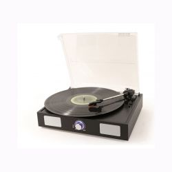 Fenton RP108B Πικάπ με Ενσωματωμένα Ηχεία και USB Recording 102.101 σε Μαύρο Χρώμα