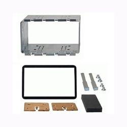Phonocar 03511 Πλαίσιο - adaptor 2DIN εγκατάστασης ράδιο CD, MP3, DVD, Οθόνης, για Alfa Romeo 159, Brera χωρίς navi σε χρώμα μαύρο