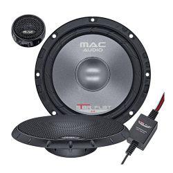 Mac Audio Star Flat 2.16 Ζεύγος διαιρούμενων ηχείων 2 δρόμων 16,5 cm με ισχύ 80 Watt Rms και συνολική ισχύ 280 Watt