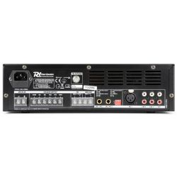 Power Dynamics PBA120 PA ενισχυτής 100V, 120 Watt, 4-16 Ohm με USB/ SD/ FM/ Bluetooth 952.096