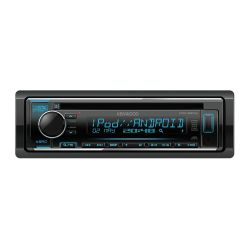 Kenwood KDC-220UI Ράδιο CD 1 Din Αυτοκινήτου με Bluetooth , είσοδο aux , Θύρα USB Πολύχρωμος Φωτισμός Πλήκτρων