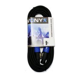 Vonyx 177.709 Καλώδιο Speakon NL2 αρσενικό σε Speakon NL2 αρσενικό 15m