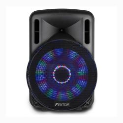 Fenton FT15LED Φορητό επαναφορτιζόμενο 15'' με ισχύ 800 Watt Peak με MP3,USB,SD,Bluetooth - Ασύρματο Μικρόφωνο 170.093