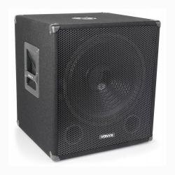"""Vonyx SMWBA-15 Bi-Amplifier Επαγγελματικό 15"""" Subwoofer 300 Watt Max + 2 x 150 Watt Max 170.758"""