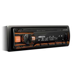 Alpine UTE-200BT Ράδιο USB/AUX Με Bluetooth Και Μεταβλητό Φωτισμό RGB