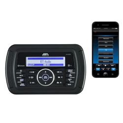 Jensen MA300 Marine Audio AM/FM/USB/Bluetooth/Waterproof Stereo with App Control