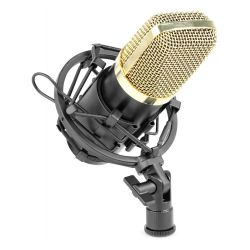 Vonyx CM650 Πυκνωτικό Studio Μικρόφωνο Phantom 48V με βάση Αράχνη 173.404