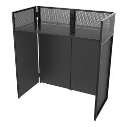 Vonyx DB4 Pro Foldable DJ Booth System 4 screens 180.050