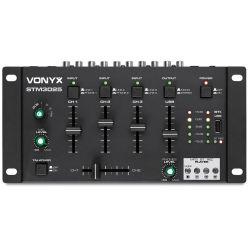Vonyx STM3025 DJ Μίκτης Ήχου 4 Καναλιών με USB/MP3/Bluetooth και Record 172.970