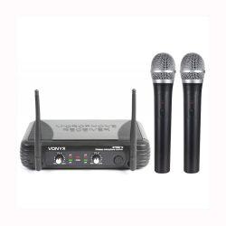 Vonyx STWM-712 Διπλό Ασύρματο Μικρόφωνο Χειρός VHF