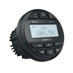 Hertz HMR 10 Αδιάβροχη πηγή ήχου marine με ευανάγνωστη οθόνη με Ραδιόφωνο, Bluetooth, USB, 200W