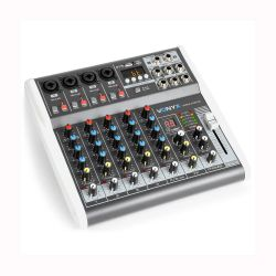 Vonyx VMM-K602 6-Channel Music Mixer with DSP