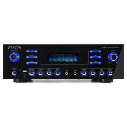 Fenton AV340BT 5-Channel HQ Surround amplifier 2 x 180 Watt με USB/ Bluetooth