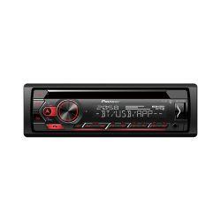 Pioneer DEH-S420BT Ραδιο-CD με Bluetooth, άμεσο έλεγχο iPhone-Android ,USB Κόκκινος Φωτισμός Πλήκτρων