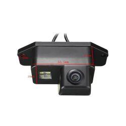 OEM RS6868 Ειδική κάμερα οπισθοπορείας για Mitsubishi Lancer ,Evo με γωνία λήψης 170° , τριπλού φακού