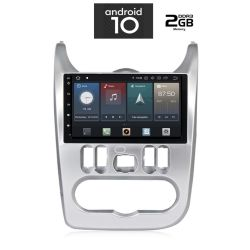 Digital iQ IQ-AN X433 GPS Multimedia OEM 9'' με Android 10 Q για Dacia Sandero ,Logan ,Duster από 2006 εώς 2012, CPU : PX30 CORTEX  A35  1.5Ghz – Quad core – RAM DDR3 : 2GB – NAND FLASH : 16GB