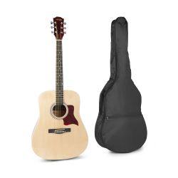 Max Solojam Western 173.215 Ακουστική Κιθάρα σε Φυσικό χρώμα