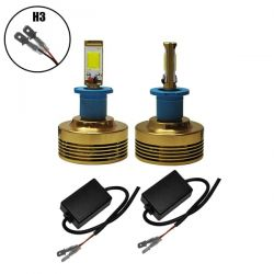 LED HID KIT H3 45 Watt 4500 Lumen 9-32 Volt DC 6000k GloboStar 99701