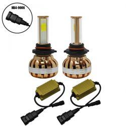 LED HID KIT HB4 9006 45 Watt 4500 Lumen 9-32 Volt DC 6000k GloboStar 99706