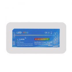 Ασύρματος LED RGB Controller με Χειριστήριο Τοίχου Αφής 2.4G RF 12v (576w) - 24v (1152w) DC για Τέσσερα Group GloboStar 04054