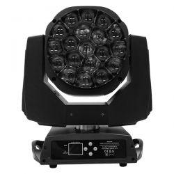 Κινούμενη Ρομποτική Κεφαλή Atlas HAWKEYE 2 K10 BEE EYE PRO 4in1 BEAM - WASH - ROTATION - ZΟΟΜ 4°-60° 19*15 Watt OSRAM LED RGBW 450W 230V DMX512 GloboStar 51151
