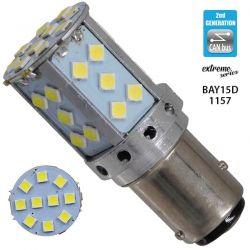 Λαμπτήρας LED Extreme Series Can-Bus 2ης Γενιάς με βάση 1157 15W 12v Ψυχρό Λευκό 6000k GloboStar 81242