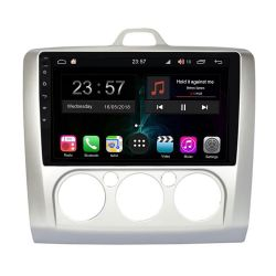 Bizzar BZ-L5003-2 Οθόνη 9'' Tablet με Android 10 Q για Ford Focus (Manual AC) από το 2004 εώς 2011 με  επεξεργαστή Intel SC9853i Octa-Core 1.8GHz