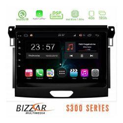 Bizzar BZ-L5574 Οθόνη 9'' Tablet με Android 10 Q για για Ford Ranger από το 2017 εώς 2020 με  επεξεργαστή Intel SC9853i Octa-Core 1.8GHz