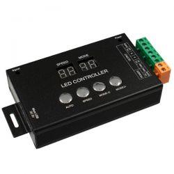 GloboStar® 05035 LED RGB GENIUS DMX512 TTL Output Controller 12-24v για RGB Wall Washer και Digital Neon Strip