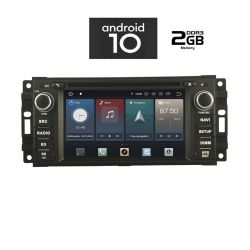 Digital iQ IQ-AN X512 GPS Multimedia OEM 7'' με Android 10 Q για Chrysler , Dodge , Jeep από 2007 εώς 2014 ,CPU : PX30 CORTEX  A35  1.5Ghz – Quad core – RAM DDR3 : 2GB – NAND FLASH : 16GB
