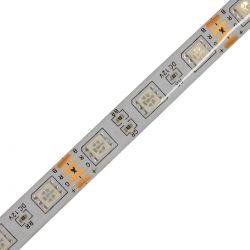 GloboStar® 70411 Σετ Ταινία LED 5m 36W/5m 60LED/m 5050 SMD 600lm/m 120° Αδιάβροχη IP65 με Ενσωματωμένα Προγράμματα Λειτουργίας - Ασύρματο Χειριστήριο και Τροφοδοτικό RGB