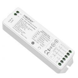 GloboStar® 73422 Ασύρματος RF 2.4Ghz LED RGBW + WW Smart Controller Mi-Light LS2 MiBOXER RF 2.4Ghz DC 12-24V Max 360W