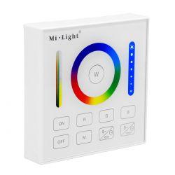 GloboStar® 73425 Mi-Light B0 LED RGBW+WW+CCT Smart Ασύρματο Χειριστήριο Αφής 2.4G RF Φορητό/Τοίχου με Μπαταρία για όλα τα Mi-Light Controller Box