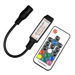 GloboStar® 73420 Ασύρματος LED Controller RGB με Χειριστήριο RF 2.4Ghz DC 5-24V Max 288W