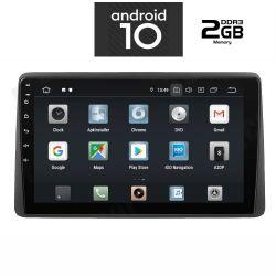 Digital IQ IQ-AN X1040_GPS Multimedia OEM για DACIA DUSTER mod. 2019> με ANDROID 10 Q PX30 CORTEX  A35  1.5Ghz – Quad core – RAM DDR3 : 2GB – NAND FLASH : 16GB