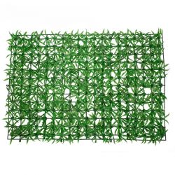 GloboStar® 78403 Συνθετικό Πάνελ Φυλλωσιάς - Κάθετος Κήπος Γρασίδι Μ60 x Υ40 x Π4cm