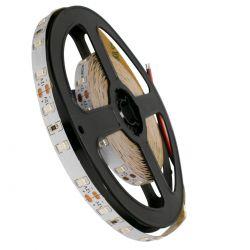 GloboStar® 70005 Ταινία LED SMD 3528 5m 4.8W/m 60LED/m 412lm/m 120° DC 12V IP20 Πράσινο - 5 Χρόνια Εγγύηση