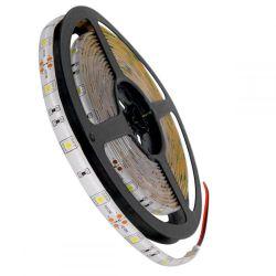 GloboStar® 70110 Ταινία LED SMD 5050 5m 7.2W/m 30LED/m 792lm/m 120° DC 12V Αδιάβροχη IP65 Ψυχρό Λευκό 6000K - 5 Χρόνια Εγγύηση