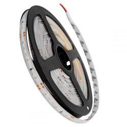 GloboStar® 70104 Ταινία LED SMD 3528 5m 4.8W/m 60LED/m 412lm/m 120° DC 12V Αδιάβροχη IP65 Κόκκινο - 5 Χρόνια Εγγύηση