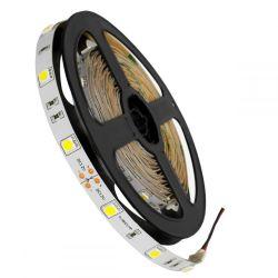GloboStar® 70010 Ταινία LED SMD 5050 5m 7.2W/m 30LED/m 792lm/m 120° DC 12V IP20 Ψυχρό Λευκό 6000K - 5 Χρόνια Εγγύηση