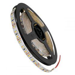 GloboStar® 70052 Ταινία LED SMD 3014 5m 12W/m 120LED/m 1680lm/m 120° DC 12V IP20 Θερμό Λευκό 3000K - 5 Χρόνια Εγγύηση