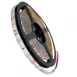 GloboStar® 70112 Ταινία LED SMD 5050 5m 7.2W/m 30LED/m 742lm/m 120° DC 12V Αδιάβροχη IP65 Θερμό Λευκό 3000K - 5 Χρόνια Εγγύηση