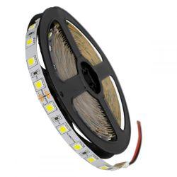 GloboStar® 70220 Ταινία LED SMD 5050 5m 14.4W/m 60LED/m 1728lm/m 120° DC 24V IP20 Ψυχρό Λευκό 6000K - 5 Χρόνια Εγγύηση