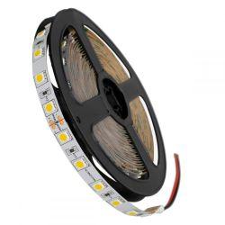 GloboStar® 70222 Ταινία LED SMD 5050 5m 14.4W/m 60LED/m 1648lm/m 120° DC 24V IP20 Θερμό Λευκό 3000K - 5 Χρόνια Εγγύηση