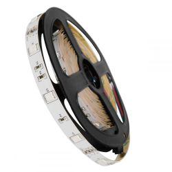 GloboStar® 70019 Ταινία LED SMD 5050 5m 7.2W/m 30LED/m 727lm/m 120° DC 12V IP20 RGB - 5 Χρόνια Εγγύηση