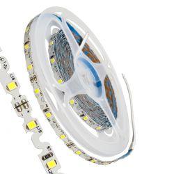 GloboStar® 70040 Ταινία LED Τύπου S Ζιγκ Ζαγκ SMD 2835 5m 6W/m 60LED/m 960lm/m 120° DC 12V IP20 Ψυχρό Λευκό 6000K - 5 Χρόνια Εγγύηση