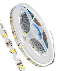 GloboStar® 70041 Ταινία LED Τύπου S Ζιγκ Ζαγκ SMD 2835 5m 6W/m 60LED/m 942lm/m 120° DC 12V IP20 Φυσικό Λευκό 4500K - 5 Χρόνια Εγγύηση