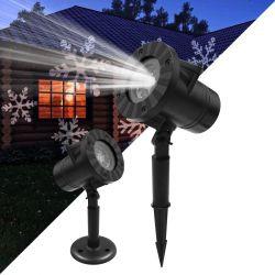 GloboStar® 75599 Προβολάκι Κήπου Καρφωτό - Δαπέδου Epistar LED 6W 300lm 60° AC 230V Αδιάβροχο IP67 RGB με 12 Διαφορετικά Σχέδια Φωτισμού