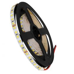 GloboStar® 70231 Ταινία LED SMD 2835 5m 8W/m 120LED/m 1256 lm/m 120° DC 24V IP20 Φυσικό Λευκό 4500K - 5 Χρόνια Εγγύηση